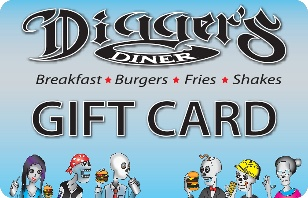 Digger's Diner eGift Card