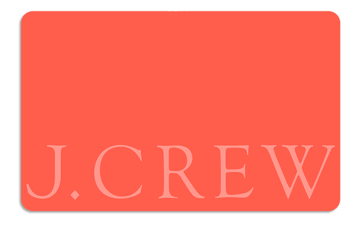 J Crew eGift Cards