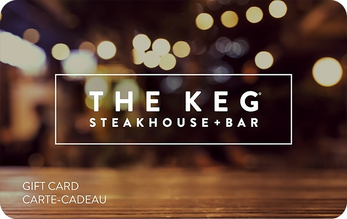 The Keg Steakhouse + Bar eGift Card