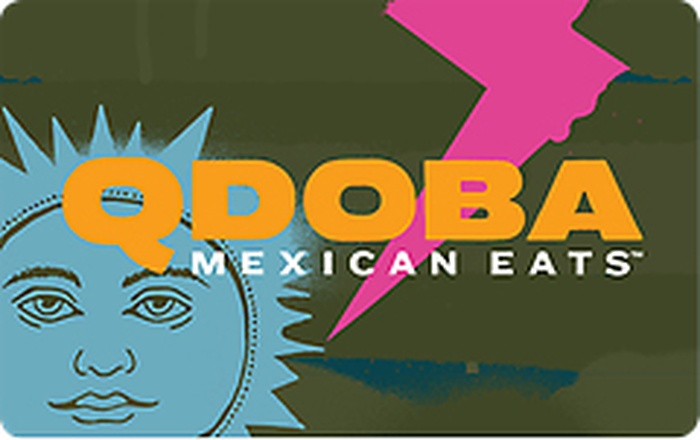 Qdoba Mexican Eats Gift Card