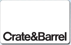 Crate and Barrel Gift Card