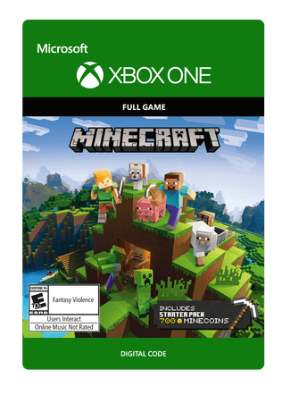 Xbox Minecraft Starter Collection eGift Card