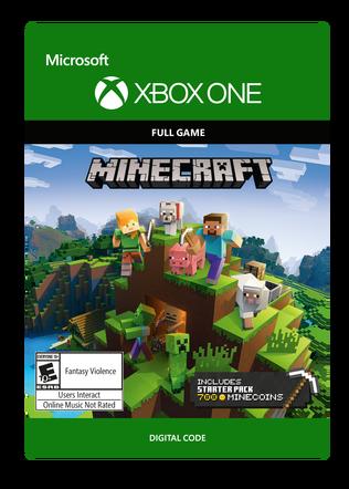 XBOX One Minecraft Starter