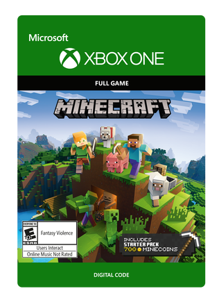 Xbox Minecraft Starter Collection eGift Card