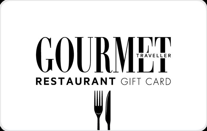Gourmet Traveller Gift Card