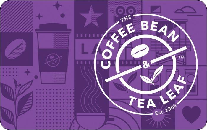 The Coffee Bean & Tea Leaf eGift Card