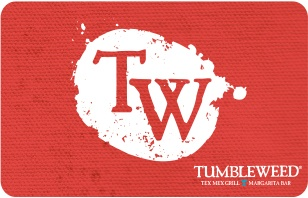 Tumbleweed eGift Card