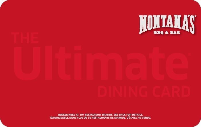 Montana's BBQ and BAR eGift Card