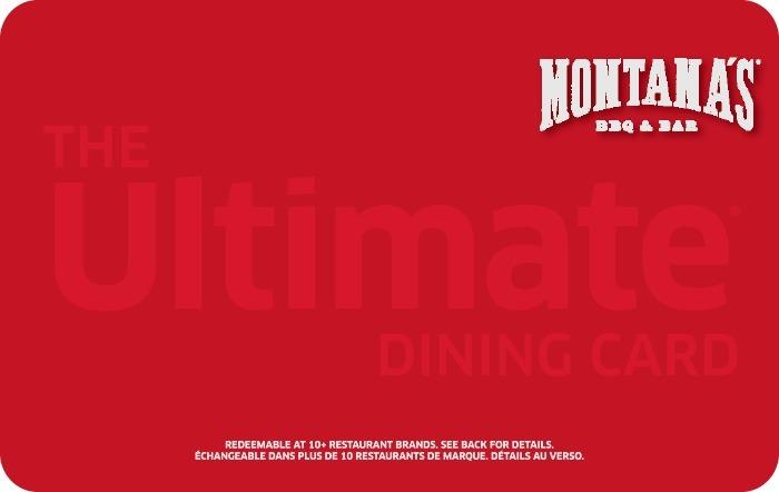 Montana's BBQ & BAR eGift Card
