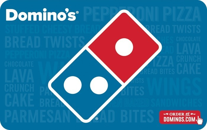 Dominos eGift Cards