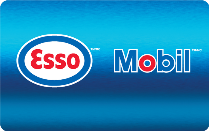 Esso and Mobil eGift Card