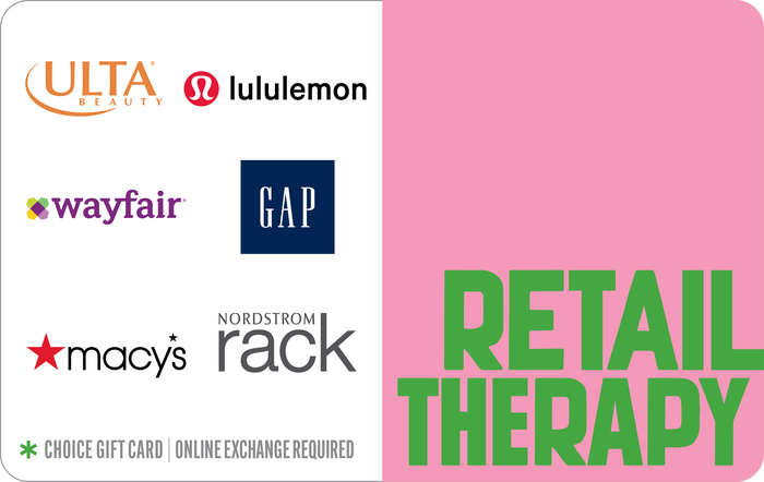Retail Therapy Choice eGift Card