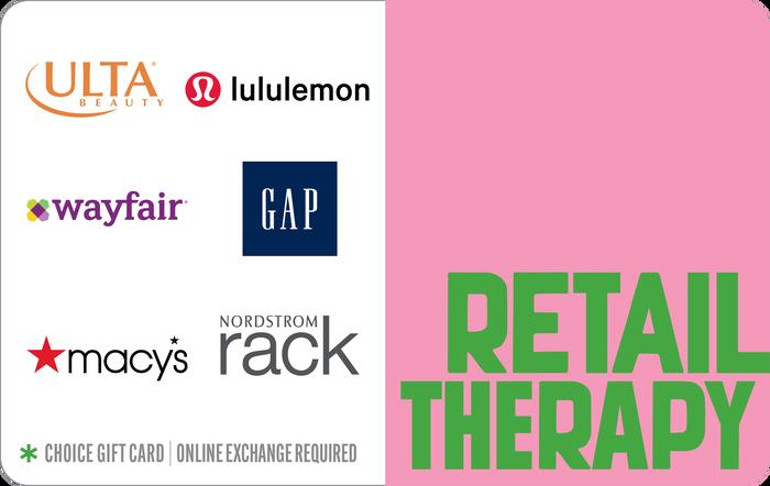Retail Therapy eGift