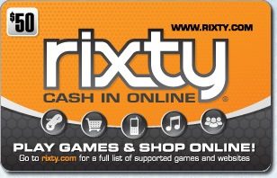 Rixty eGift Card