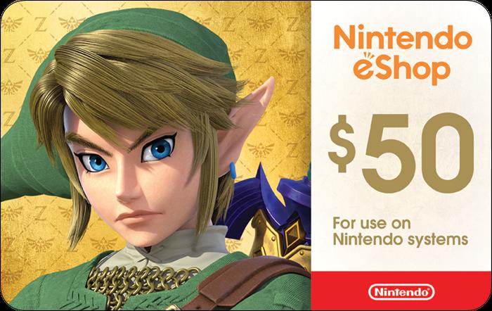 Nintendo $50 eGift
