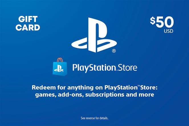 Sony PlayStation $50 eGift