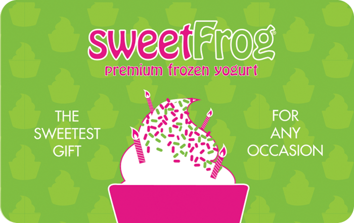 Sweetfrog Gift Card