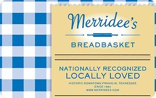 Merridee's Breadbasket eGift