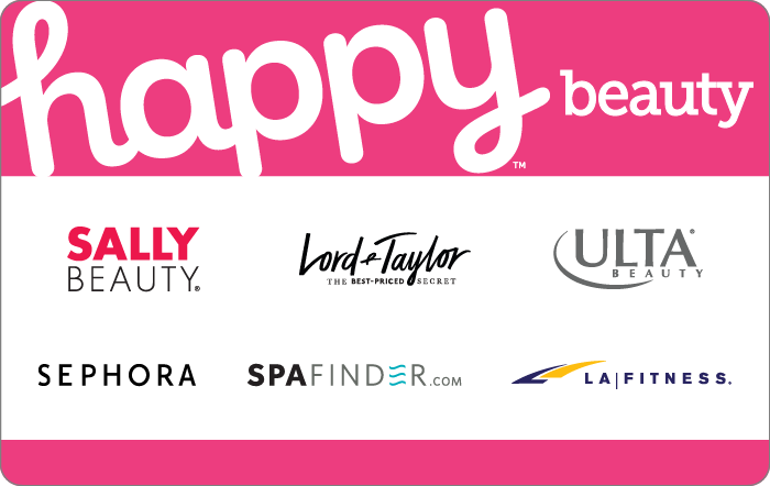 Promotion of Happy Beauty Gift Card