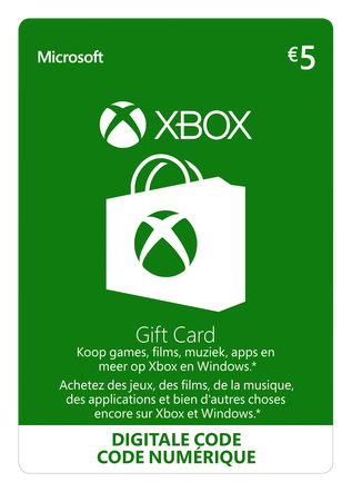 Xbox Digital Gift Card 25EU