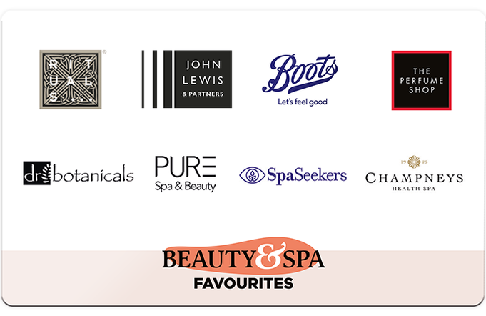 Beauty & Spa Favourites Gift Card
