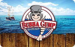 Bubba Gump Shrimp Co Gift Cards