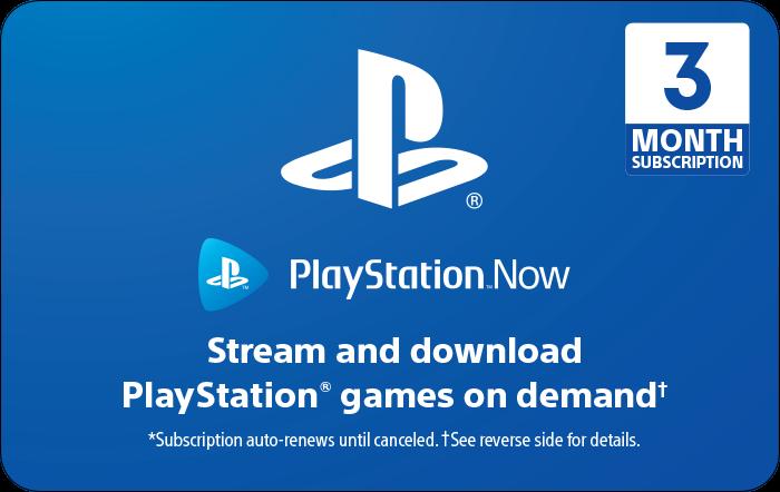 PlayStation Now eGift Card