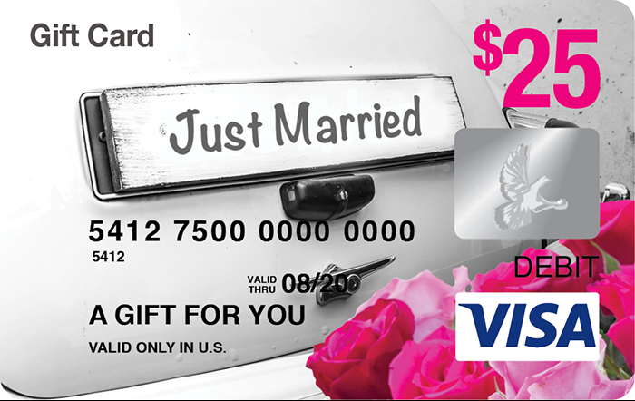 Just Married Visa® Gift Card