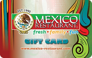 Mexico Restaurant eGift