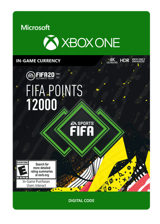 FIFA 20 ULTIMATE TEAM FIFA POINTS 12000
