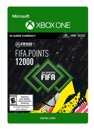 FIFA 20 ULTIMATE TEAM FIFA POINTS 12000