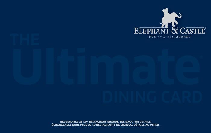 Elephant & Castle eGift Card
