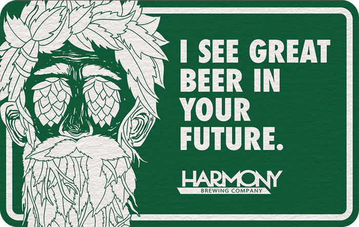 Harmony Brewing Gift Card