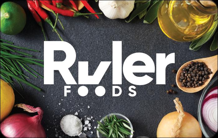 Kroger Ruler Foods Gift Card