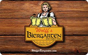 Wolff's Biergarten $20 eGift