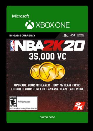 Xbox NBA 2K20 35000VC $9.99 eGift