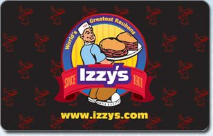 Izzys eGift Card