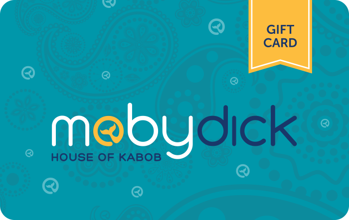 Moby Dick House of Kabob Gift Card