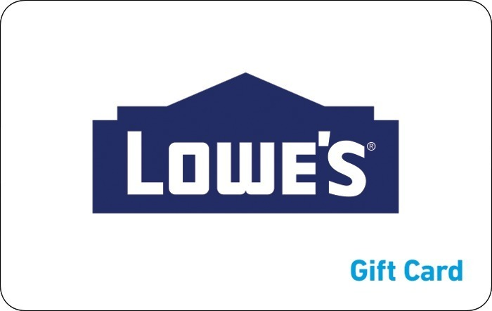 Promotion of Lowe's eGift Cards