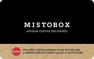 Mistobox eGift Cards