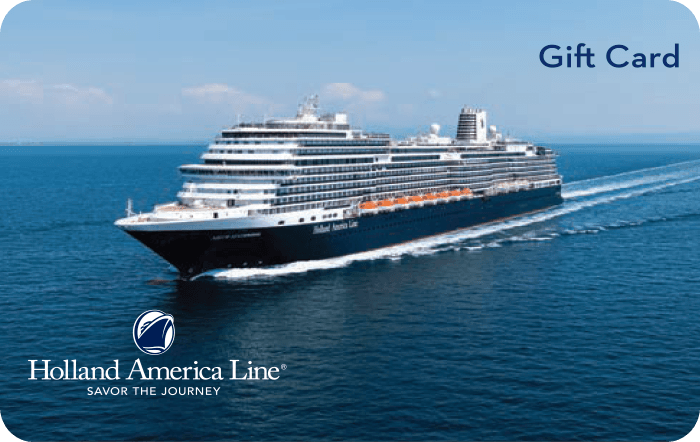 Holland America Gift Card