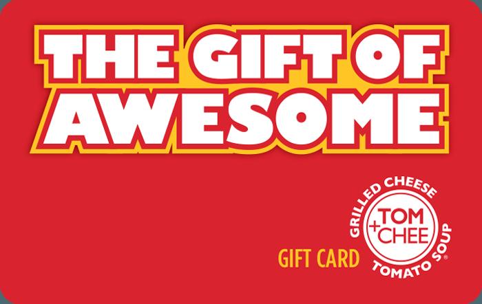 Tom Chee Gift Card