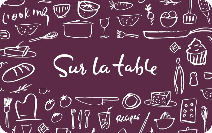 Sur La Table eGift