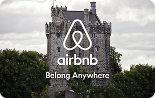 Airbnb Castle eGift