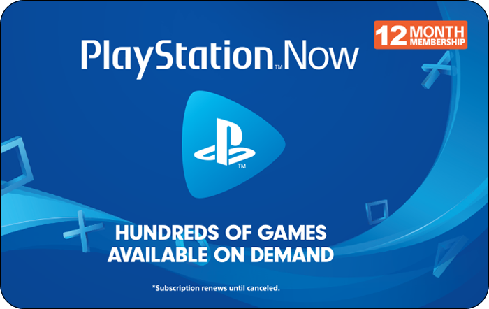 Sony PS NOW 12 Month Promotion $44.99 eGift