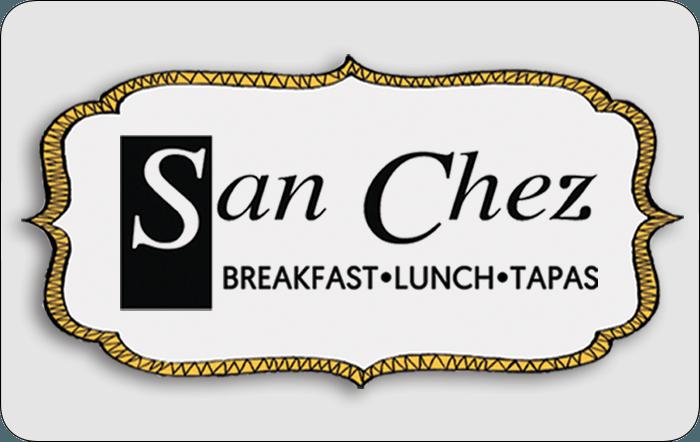 San Chez Restaurant eGift Card