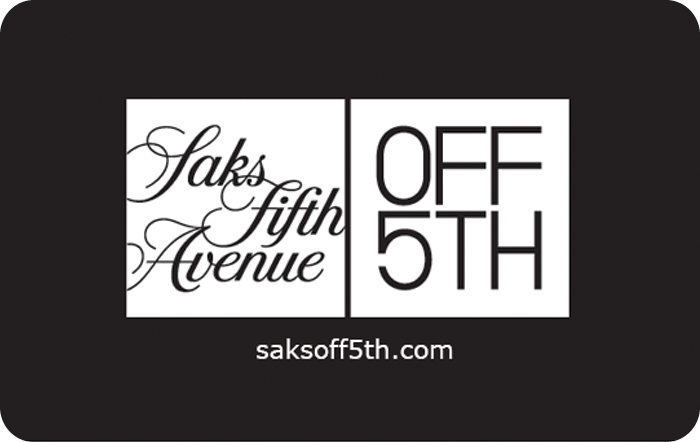 Saks Fifth Avenue OFF 5TH Gift Card