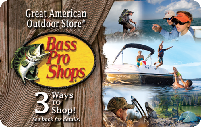 Bass Pro Customizable Gift Card