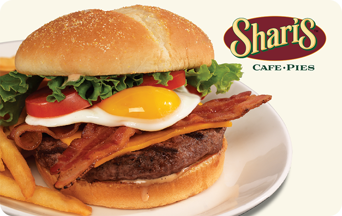 Shari's Cafe & Pies Gift Cards