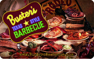 Busters Texas Style Barbecue eGift Card